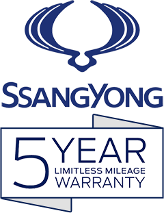 5 Year Warranty from SsangYong